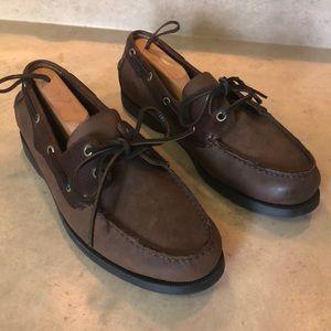 Chaps boat shoes men's 9.5 excellent condition